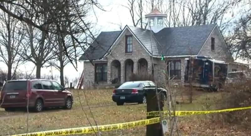 Mark Latunski's Bennington Township residence.