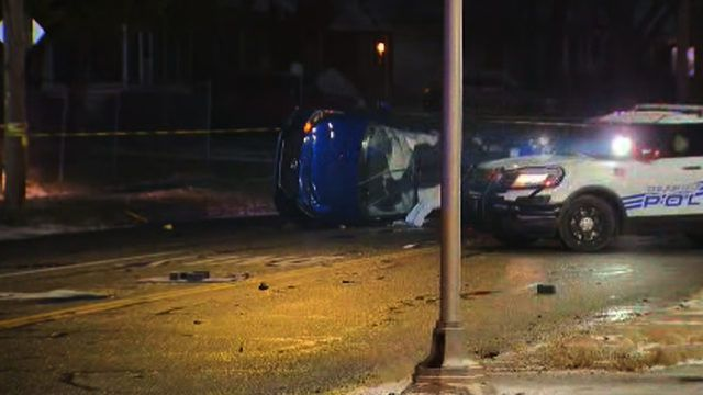 Multiple vehicles involved in deadly crash on Detroit's west