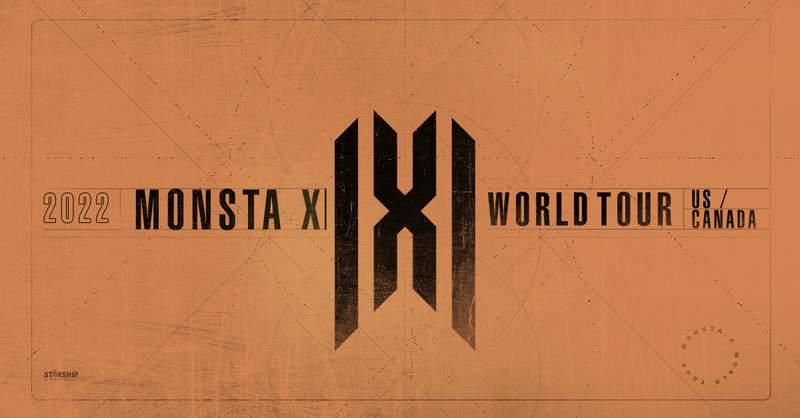 MONSTA X is set to appear in Detroit on Feb. 5, 2022.