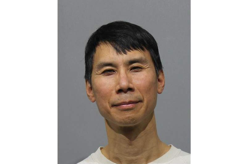 Peter Chen was arraigned on Jan. 27, 2021.