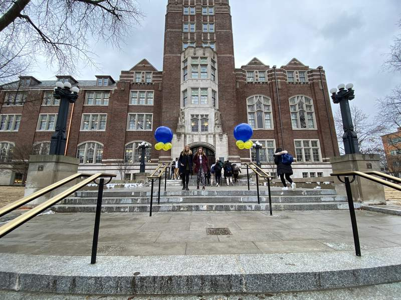 The Michigan Union opens its doors to the public after 20 months of renovations on Jan. 13, 2020.