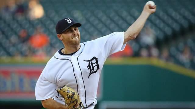 Detroit Tigers SP Matt Boyd. (Gregory Shamus/Getty Images)