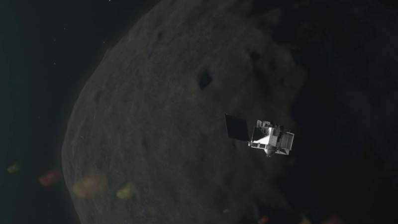 NASA touches an asteroid -- what to know