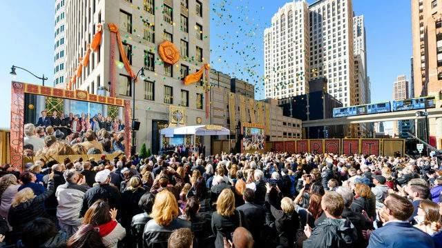 The Church of Scientology held a grand opening ceremony for its new center in Downtown Detroit on Sunday, Oct. 14, 2018. (The Church of Scientology)