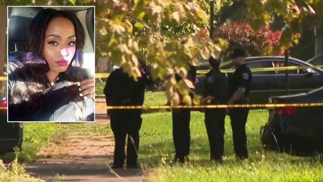 Starkisha Thompson was found fatally shot in a driveway, Detroit police said. (WDIV)
