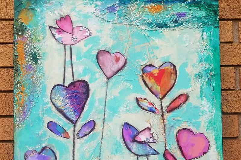 """Heart Garden"" by Kandy Myny."