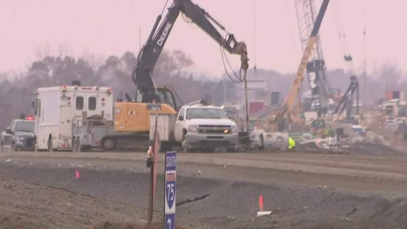 GF Default - I-75 construction in Oakland County: Opening of new northbound lanes delayed