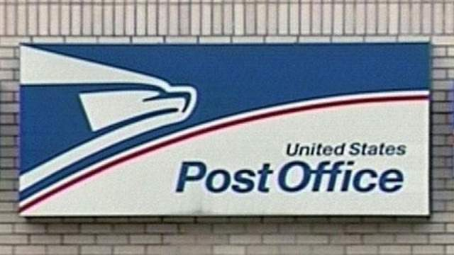 The US Postal Service believes the risk is low for employees who work at the Farmington Post Office.