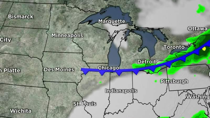 Metro Detroit weather forecast Oct. 8, 2020 -- 4 p.m. Update