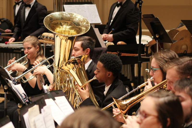 Concordia University Wind Ensemble.