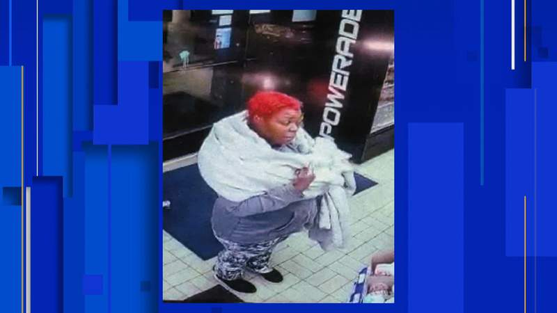 Police are searching for a woman wanted in connection to a carjacking on Detroit's east side. Photo provided by Detroit Police Department.