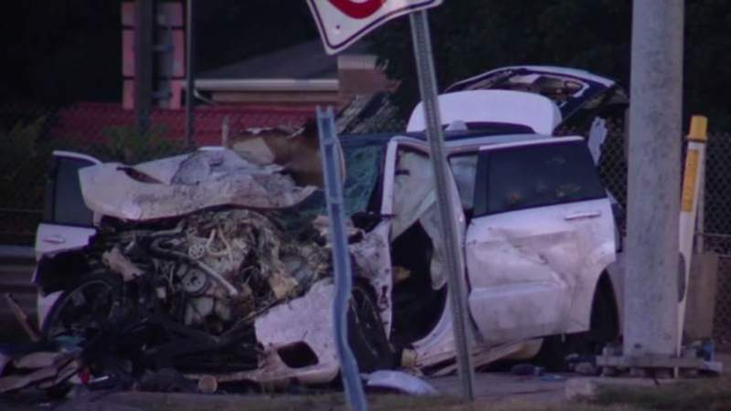 Five teens occupying a Jeep were involved in a multiple-car crash in Warren on Aug. 23, 2020.