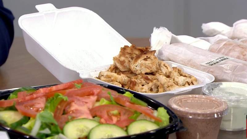 Take-out Tuesday - Krazy Shawarma on Live in the D