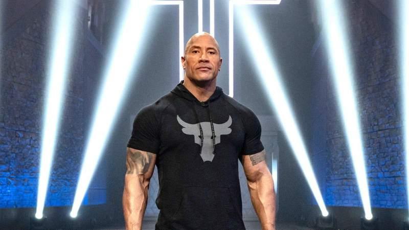 "Dwayne 'The Rock' Johnson on ""The Titan Games""."