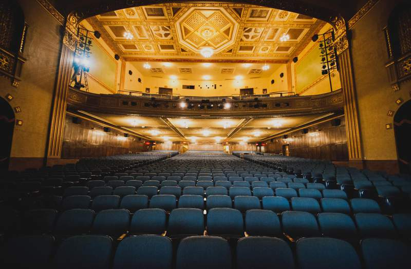 The Michigan Theater in Ann Arbor.