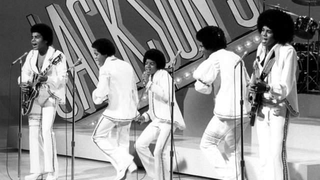 Jackson 5 performing in 1972.