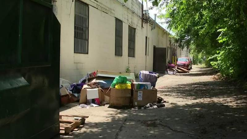 Illegal dumping concerns grow as neighborhoods clean up from flooding