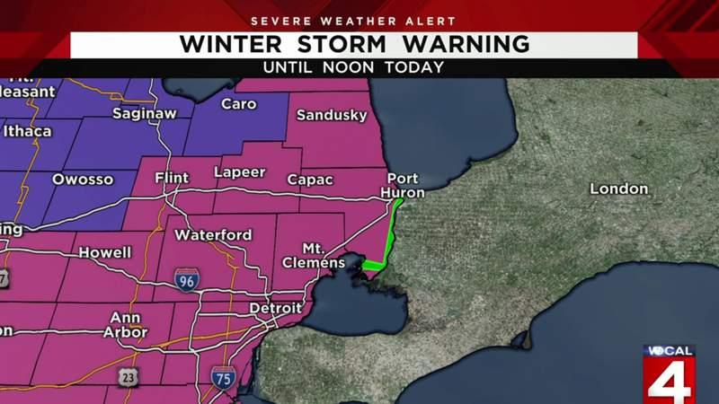 Metro Detroit weather forecast for Feb. 16, 2021 -- morning update