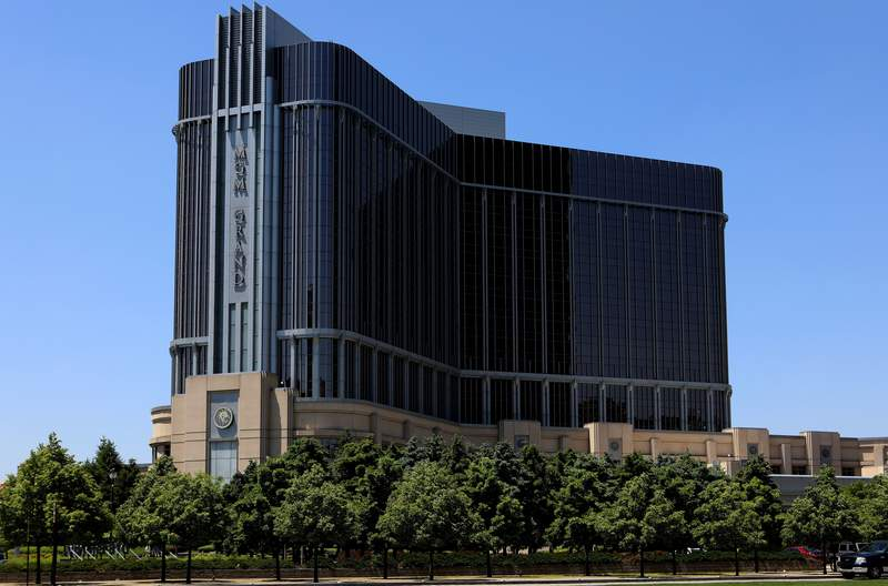 MGM Grand Detroit in Detroit, Michigan on May 25, 2018.