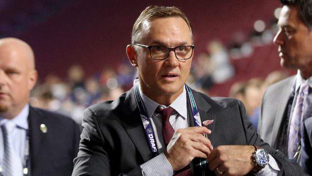 Steve Yzerman attends the first round of the 2019 NHL Draft at Rogers Arena on June 21, 2019 in Vancouver, Canada. (Photo by Bruce Bennett/Getty Images)