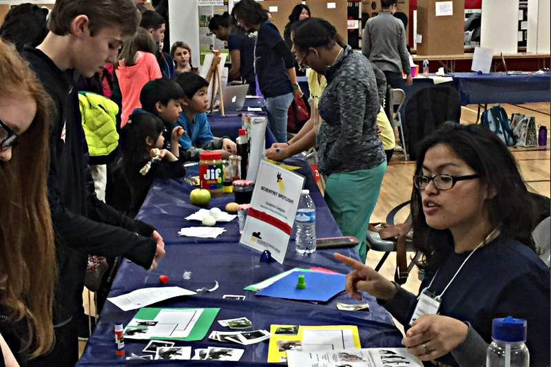 The Forsythe Young Scientists' Expo.