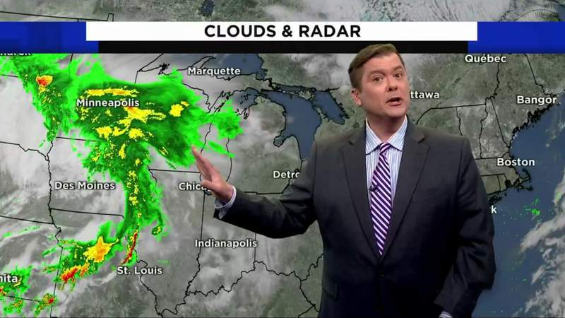 Metro Detroit weather: Pleasant Thursday, then more rain, May 27, 2021, noon update