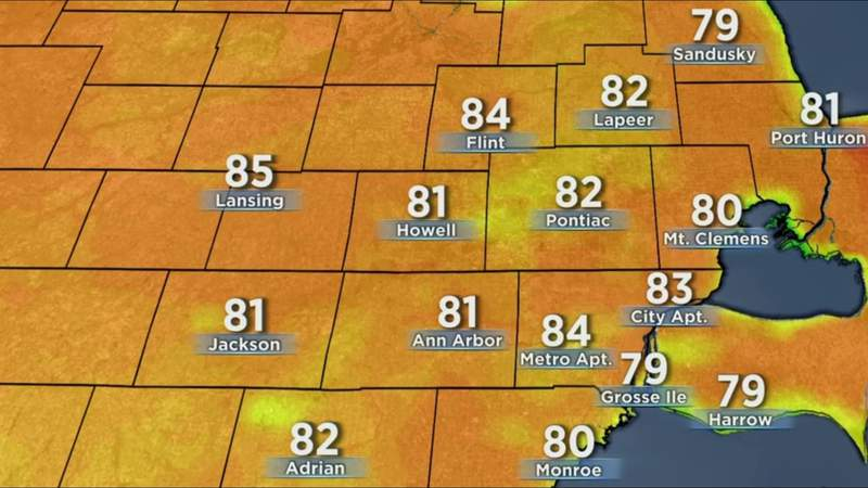 Metro Detroit weather: Rinse and repeat, June 9, 2021, noon update