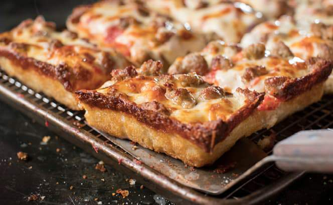 Jet's Pizza was founded in Sterling Heights, Mich. in 1978.