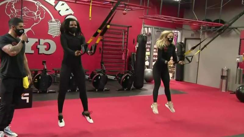 Fitness Friday: HIIT workout with ropes