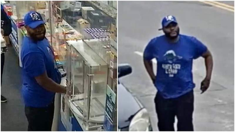 A man wanted in connection with an April 19, 2021, shooting on Mount Elliott Street in Detroit.
