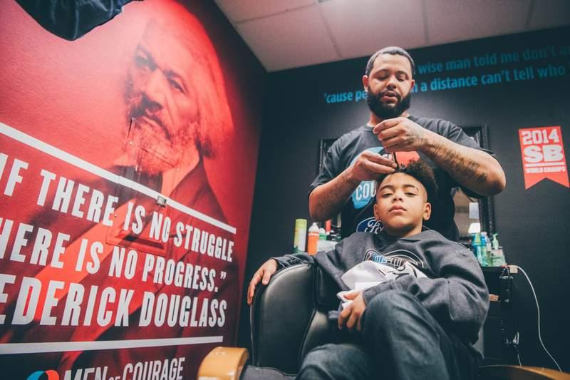 Ford Men of Courage Program Returns to Detroit with Metro Area Barbershop Challenge