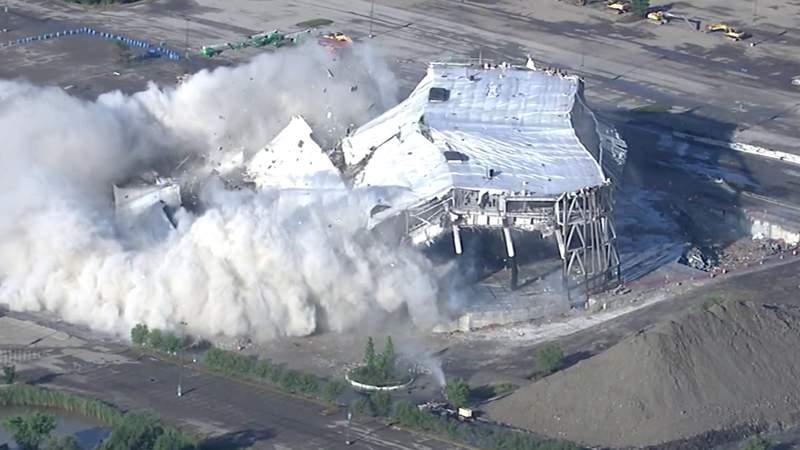 Remainder of Palace of Auburn Hills to be demolished
