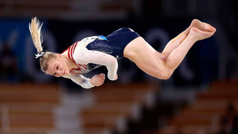 In her final chance to earn a medal at the Tokyo Olympics Games, Jade Carey came through.