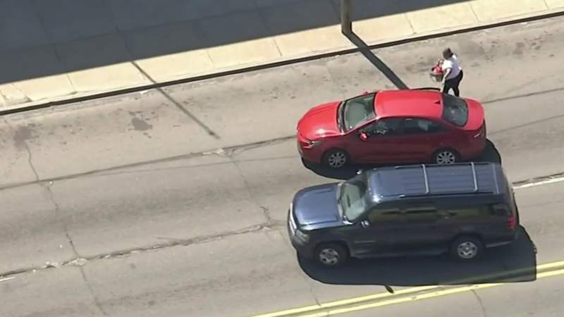 Detroit father sentenced to jail after police pursuit with baby in car