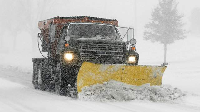 The position pays up to $20 an hour and includes snow plowing, salting and other road maintenance duties, according to the statement. (WDIV)