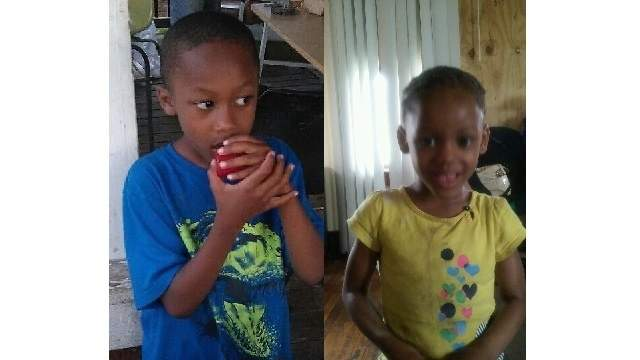 Seven-year-old Michael (left) and 3-year-old Makiah (right) were killed Wednesday night, when they were hit by a Camaro fleeing police on Detroit's east side.