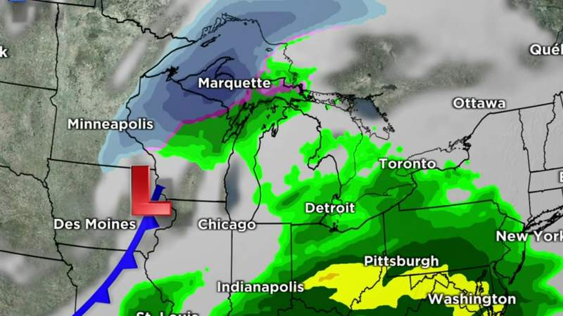 Metro Detroit weather: Chilly Saturday night, a bit wet tomorrow, Feb. 27, 2021, 11 p.m. update
