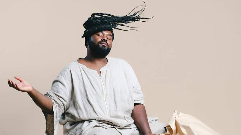Flint-based musician Tunde Olaniran. Photo courtesy of Tunde Olaniran's official Facebook page.