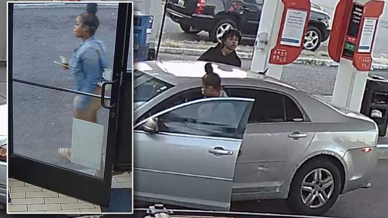 Police are looking for a man and a woman after a triple-shooting on Sept. 18, 2021.