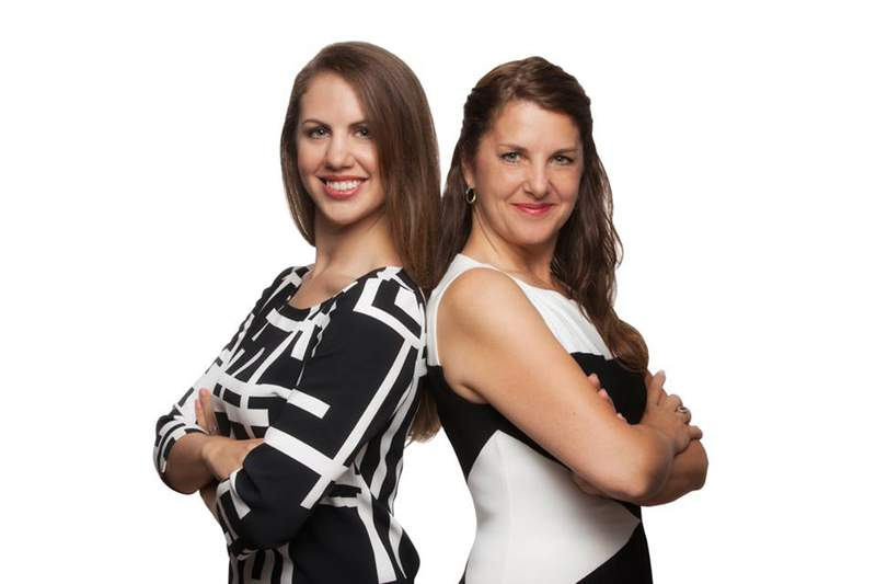 Alexa Ebenhoeh (left)  and Tammi Ebenhoeh (right) share what they have notived in Ann Arbor's real estate market since March. Photo courtesy of Tammi Ebenhoeh.