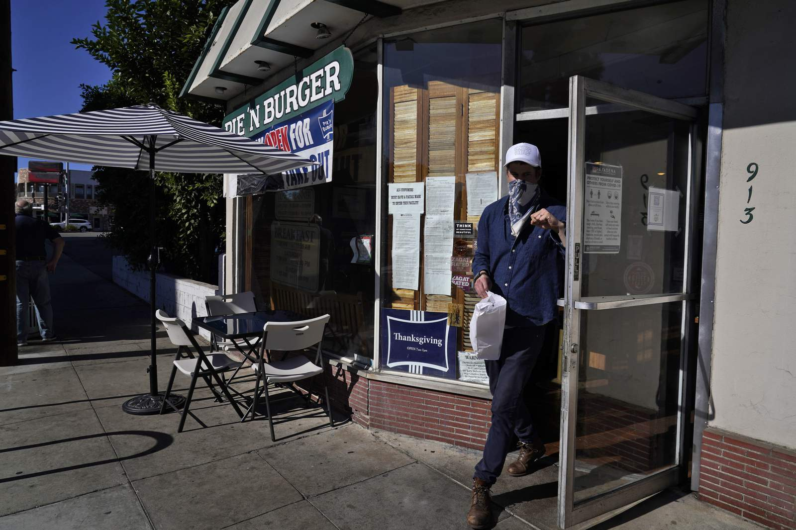 Pasadena bucks LA County order, keeps outdoor dining...