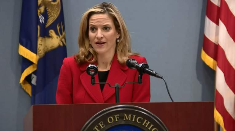 Michigan Secretary of State Jocelyn Benson.