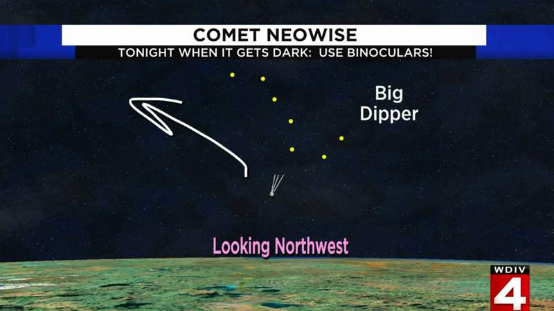 Comet NEOWISE update: When to spot it July 23, 2020