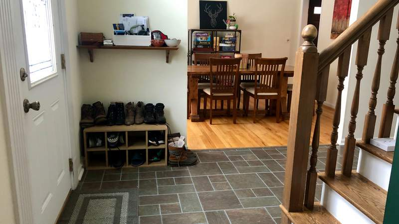 Organize your Entryway on Live in the D