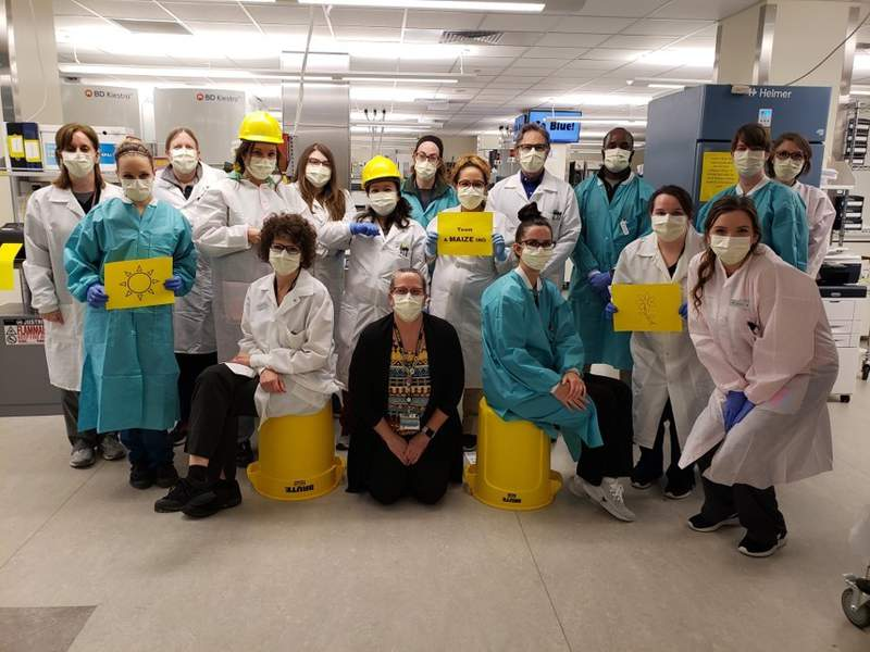 The microbiology department at Michigan Medicine's lab on North Campus.
