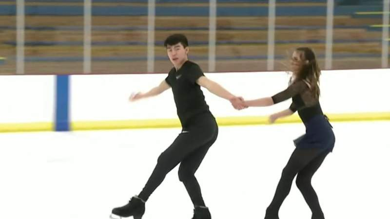 Ice dancing duo ready for world stage