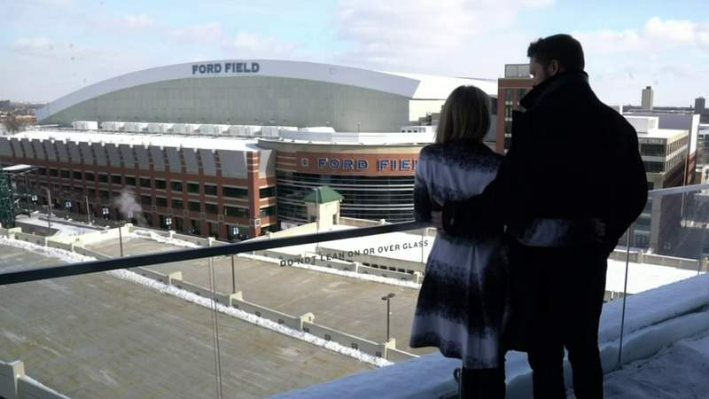 Matthew and Kelly Stafford's parting gift to Detroit