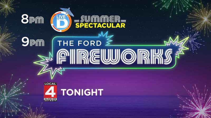Live In The D's Summer Spectacular & The Ford Fireworks