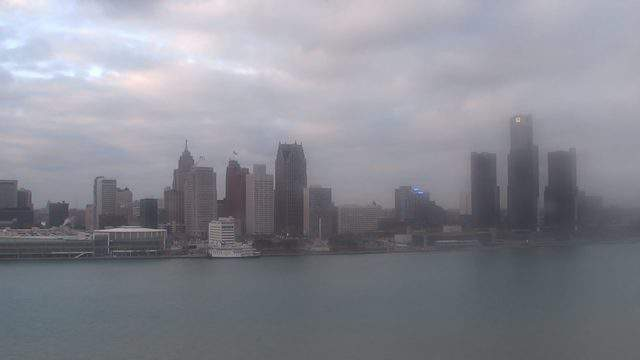 A view of Detroit, Michigan, on Dec. 7, 2018. (WDIV)