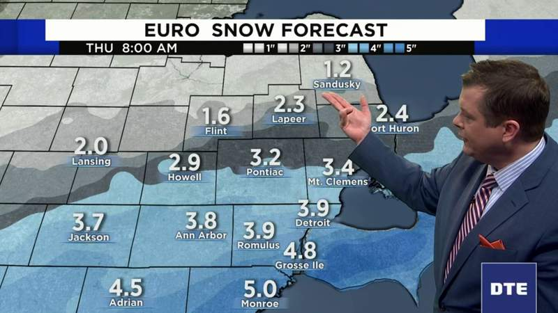 Metro Detroit weather forecast for Feb. 4, 2020 -- morning update